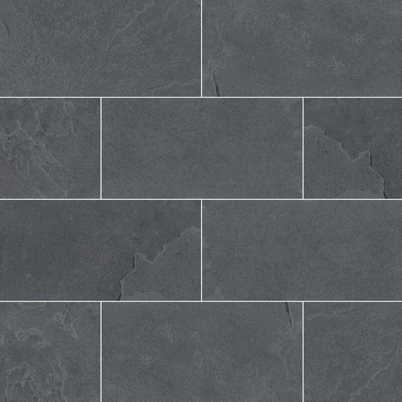 Montauk 3 X 6 Slate Subway Tile