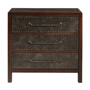 Maher 3 Drawer Accent Chest