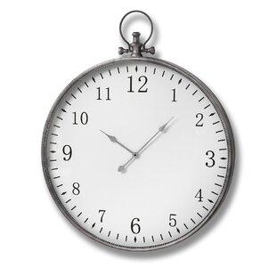 Relatively Large Pocket Watch Wall Clock Wayfair Co Uk Ar27
