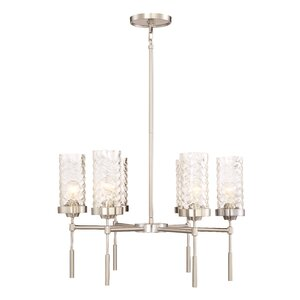Herrod 6-Light Shaded Chandelier