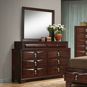Pax 8 Drawer Dresser with Mirror by Latitude Run
