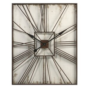 Misha Rectangular Wall Clock