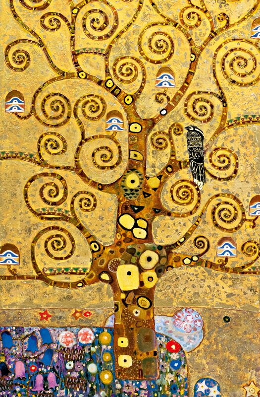 Brewster Home Fashions Ideal Decor Tree of Life Wall Mural & Reviews ...