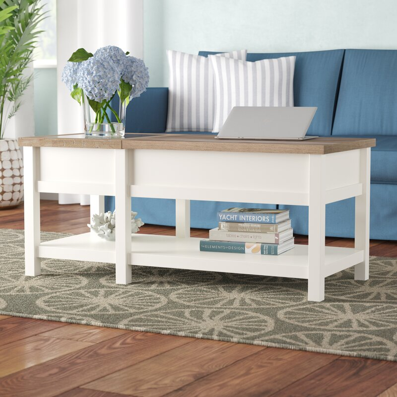 Joss And Main Lift Top Coffee Table: Highland Dunes Myrasol Coffee Table With Lift-Top