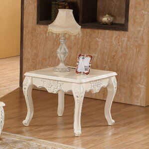 Banderas End Table by Astoria Grand