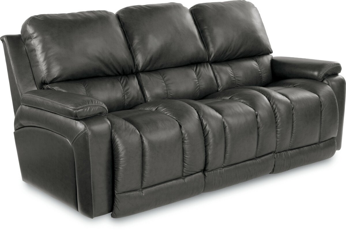 Greyson Leather Reclining Sofa Part 16