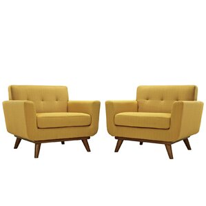 Saginaw Chair and a Half (Set of 2) by Corrigan Studio