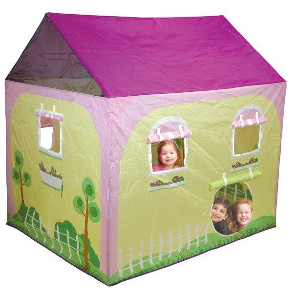 pacific play tents cottage play tent reviews wayfair rh wayfair com  cottage playhouse tent instructions
