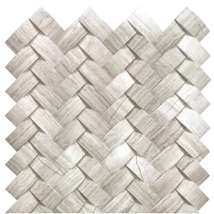 Mystic Marble Mosaic Tile In Off White