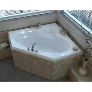 Corner Bathtubs Youll Love Wayfair - Corner-garden-tub-and-whirlpool-from-jacuzzi