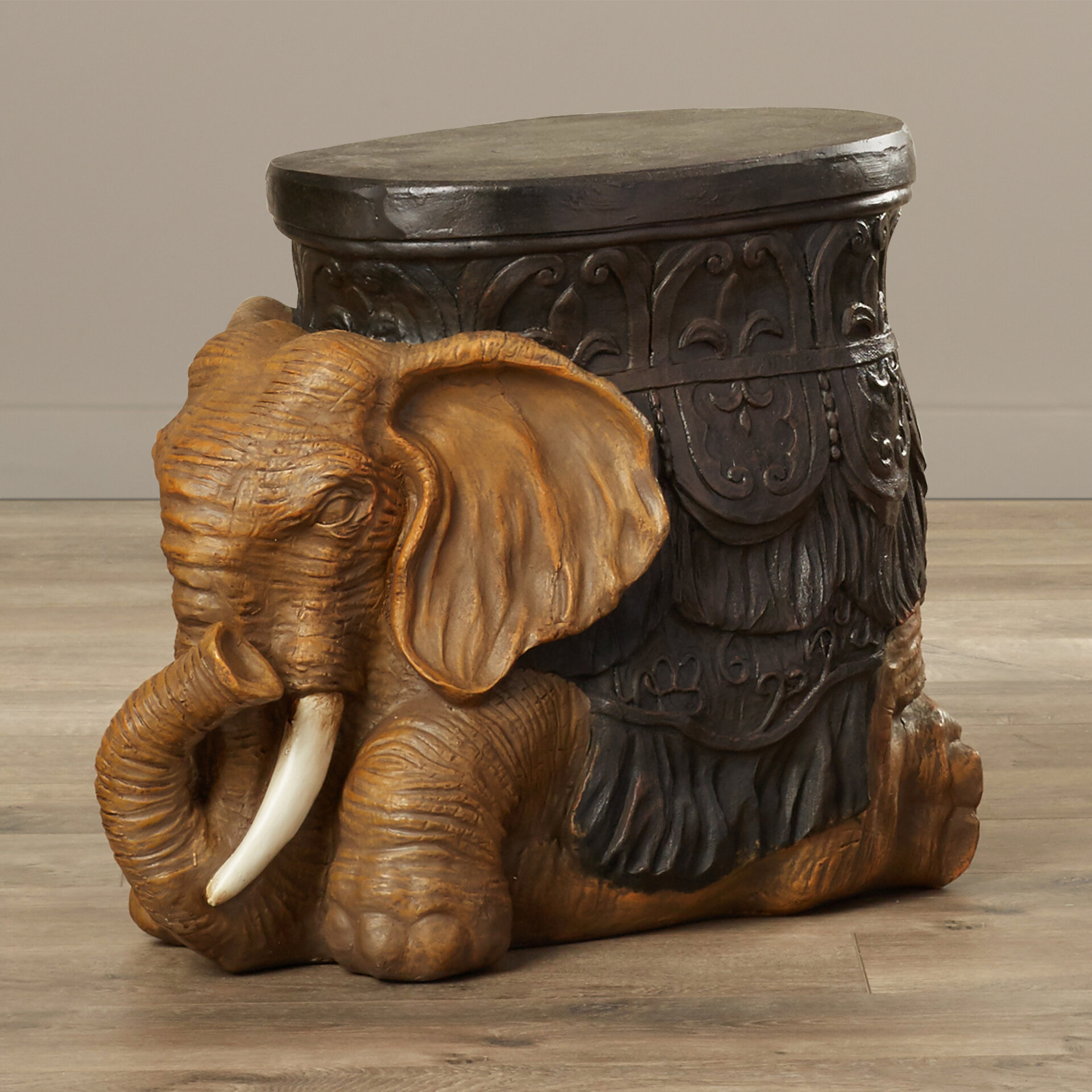 World menagerie allegheny sculptural end table reviews wayfair