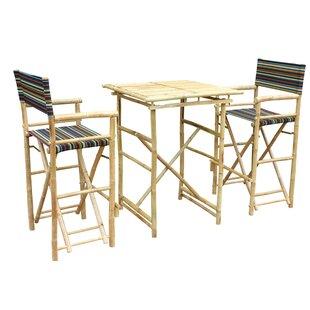 Locke 3 Piece Pub Table Set