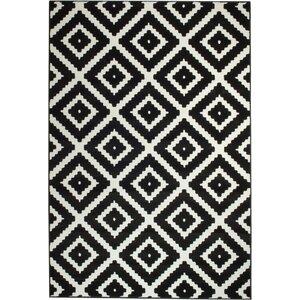 Cheney Black/White Indoor Area Rug