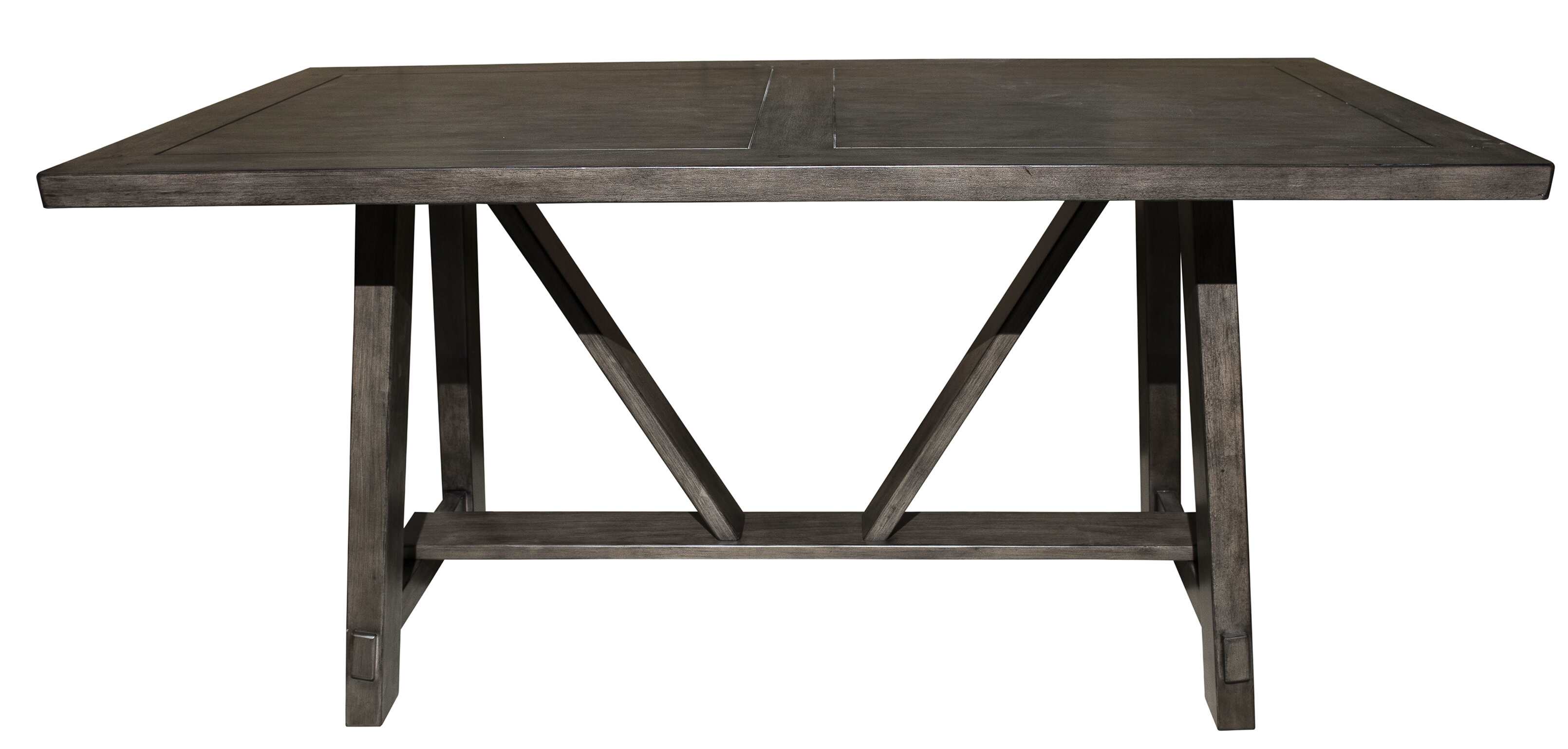 Leming Farmhouse Style Trestle Dining Table Reviews