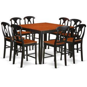 Tamarack 9 Piece Counter Height Pub Table Set by Red Barrel Studio