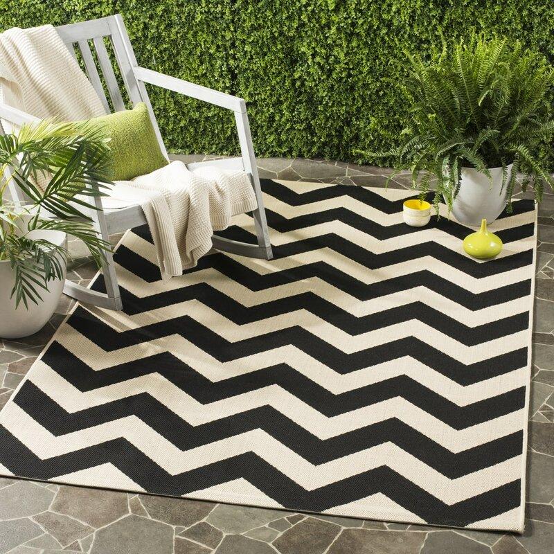 safavieh innen au enteppich madison in schwarz beige. Black Bedroom Furniture Sets. Home Design Ideas