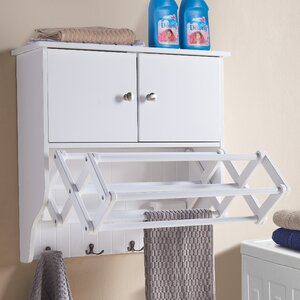 Accordion Wall Mounted Drying Rack