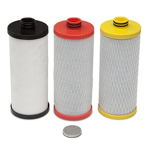 3 Cartridge 600 Gallon Under Sink Replacement Filter (Set of 3)