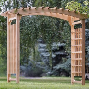 Pagoda Wedding Wood Arbor