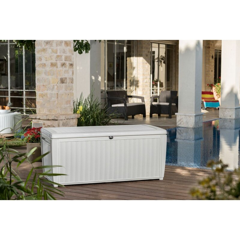 Keter Sumatra 135 Gallon Resin Deck Box Amp Reviews Wayfair