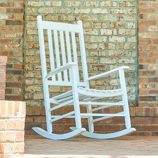 White Patio Rocking Chairs U0026 Gliders Youu0027ll Love   Wayfair