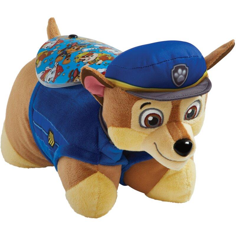 PillowPets Sleeptime Lite Nickelodeon Paw Patrol Chase Plush Night Light    Reviews  cac2468e9b56