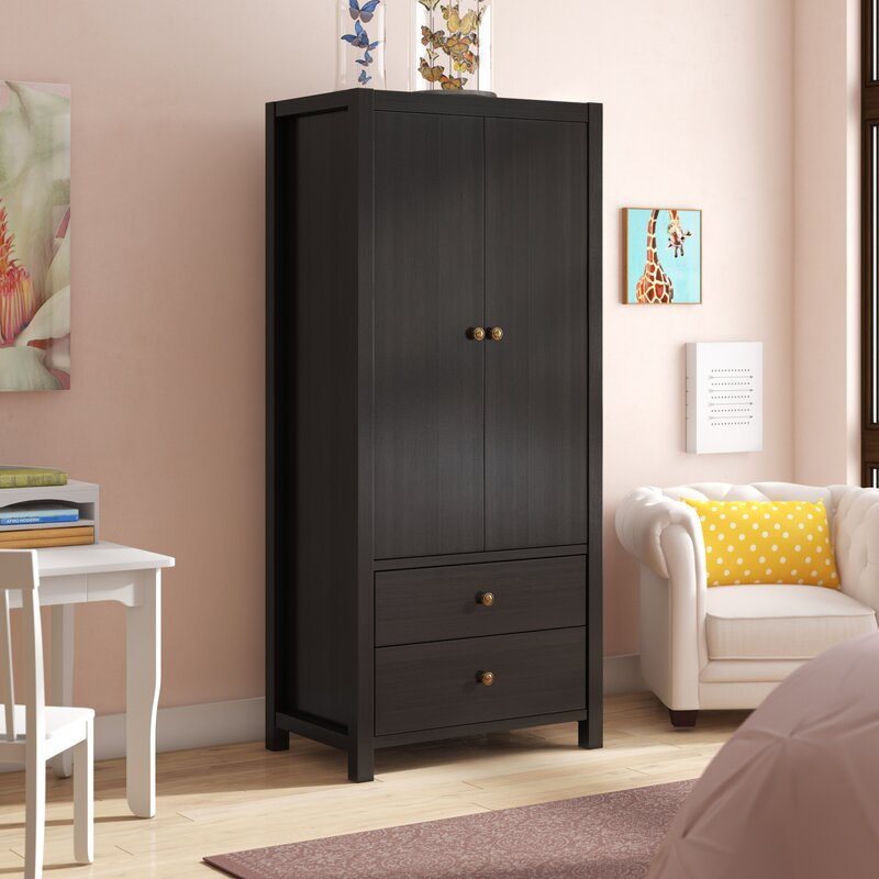 Swell Alexia Wooden Storage Cabinet Wardrobe Armoire Home Interior And Landscaping Palasignezvosmurscom