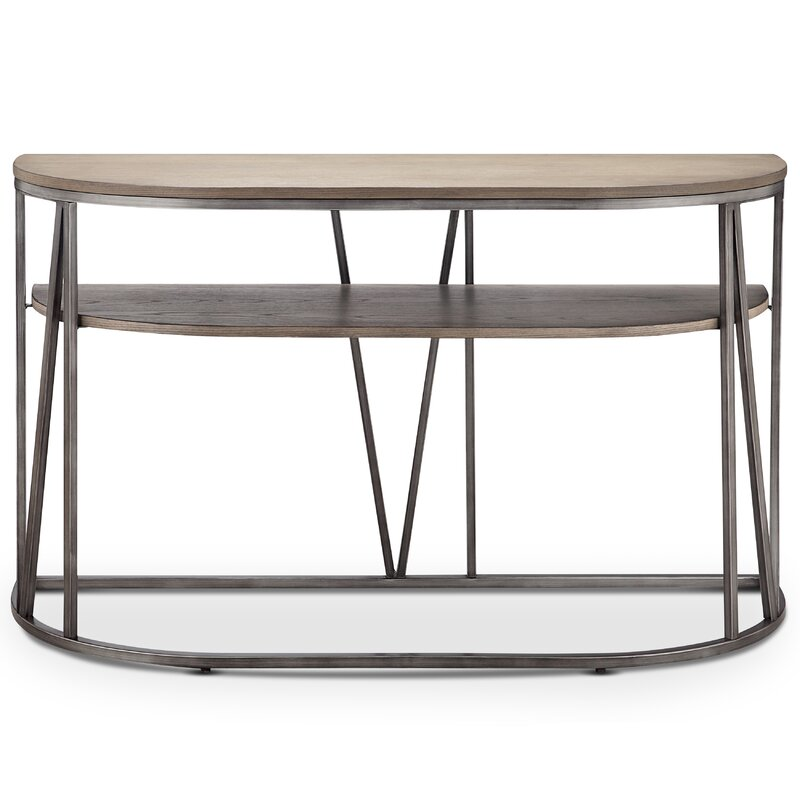 Coppock Modern Demilune Console Table