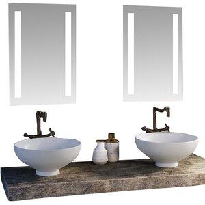 Modern lighted bathroom mirrors allmodern led lighted mirror aloadofball Images