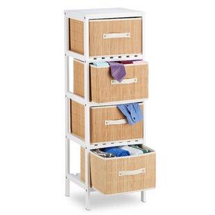 35.5 x 104.5cm Bathroom Shelf by Relaxdays
