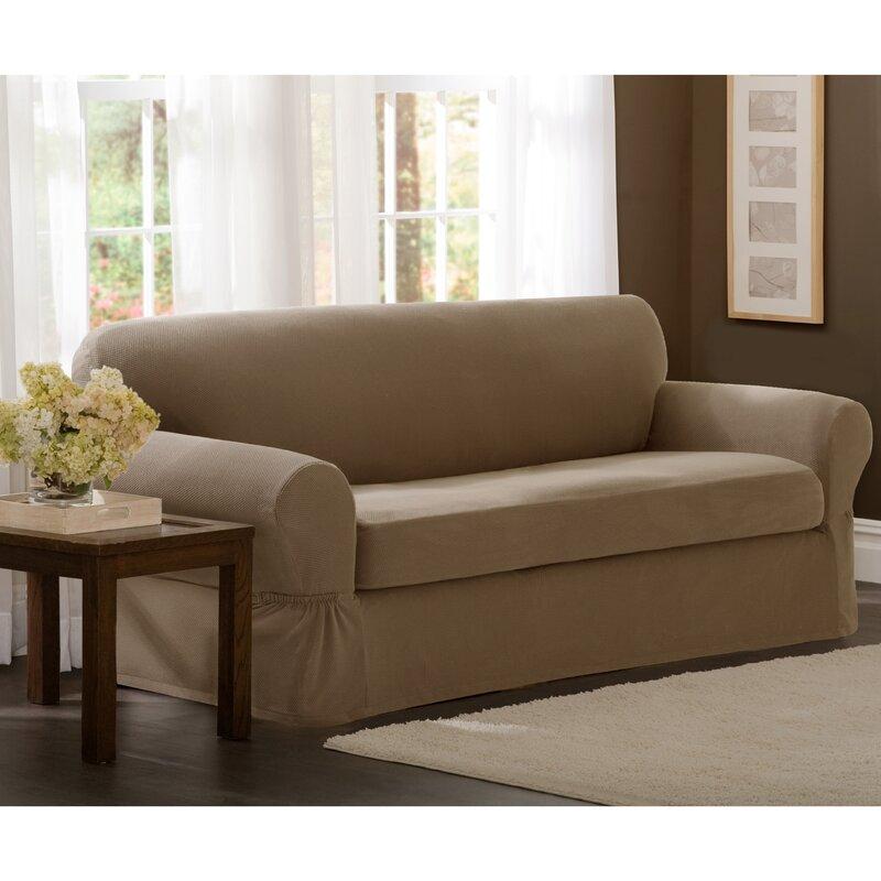 sc 1 st  Wayfair & Dual Recliner Sofa Slipcover | Wayfair islam-shia.org