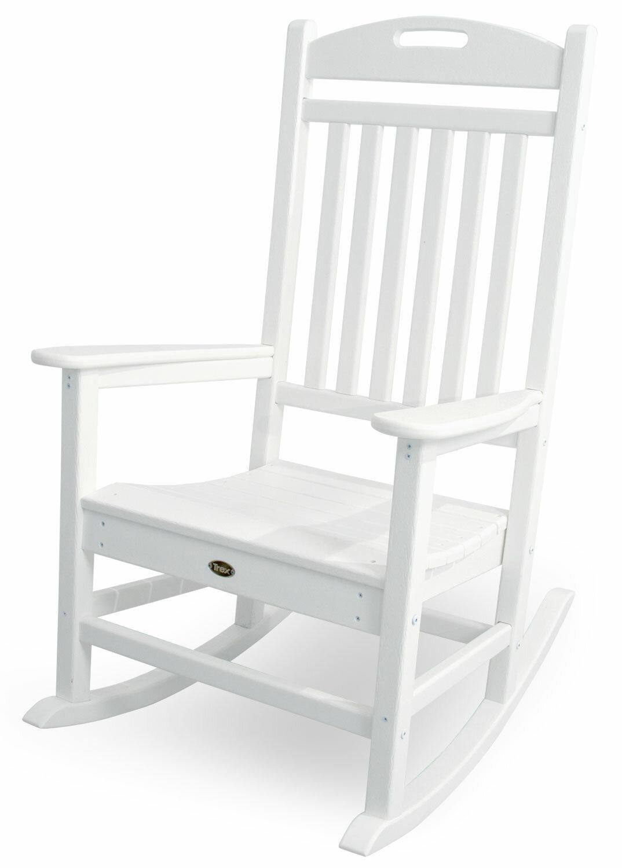 POLYWOOD® Yacht Club Rocking Chair U0026 Reviews | Wayfair