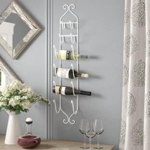 Sontag 6 Bottle Wall Mounted Wine Rack