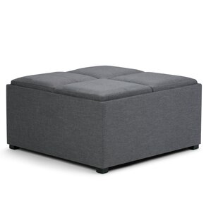 Avalon Coffee Table Storage Ottoman