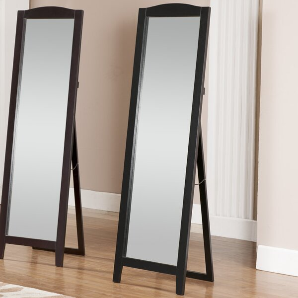 andover mills standing full length mirror reviews. Black Bedroom Furniture Sets. Home Design Ideas