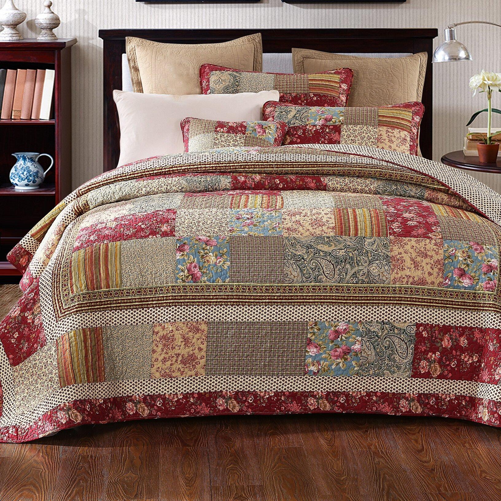 Tache Home Fashion Cotton Charming Fairytale Tea Party Reversible ...