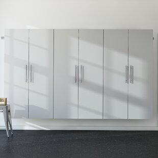 Black metal storage cabinet Industrial Chic Wayfair Basics 72 Timetravellerco Garage Storage Cabinets Shelves Youll Love Wayfair
