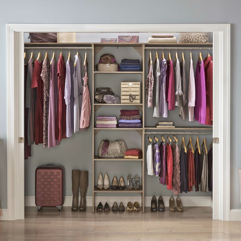 hoh o to how for shelves shelving a guest closet install in