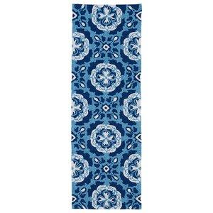 Bette Hand-Tufted Blue Indoor/Outdoor Rug