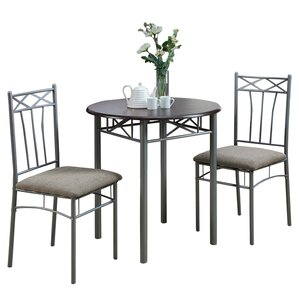 Blaxcell 3 Piece Dining SetGrey Kitchen   Dining Room Sets You ll Love   Wayfair. Gray Dining Sets. Home Design Ideas