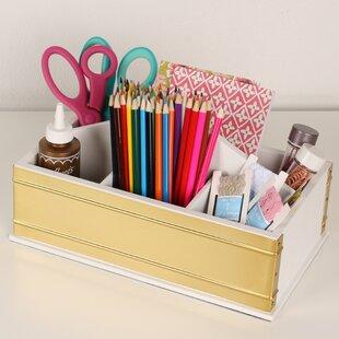 Industrious Desktop Office Supply Caddy Organizer