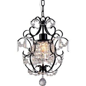 Daphne 1-Light Crystal Pendant
