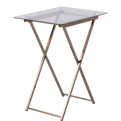 Everly Quinn Snellville Tray Table