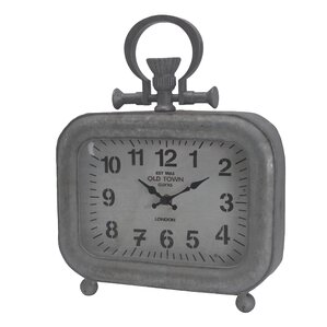 Industrial Vintage Tabletop Clock