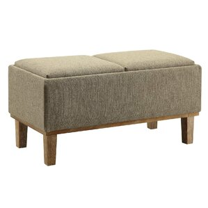 Mercury Row Leyba Storage Ottoman