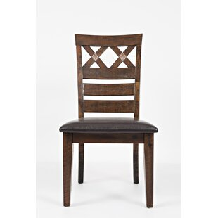 Trevon Solid Wood Dining Chair (Set of 2)