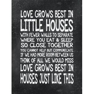 Love Grows Best Wayfair