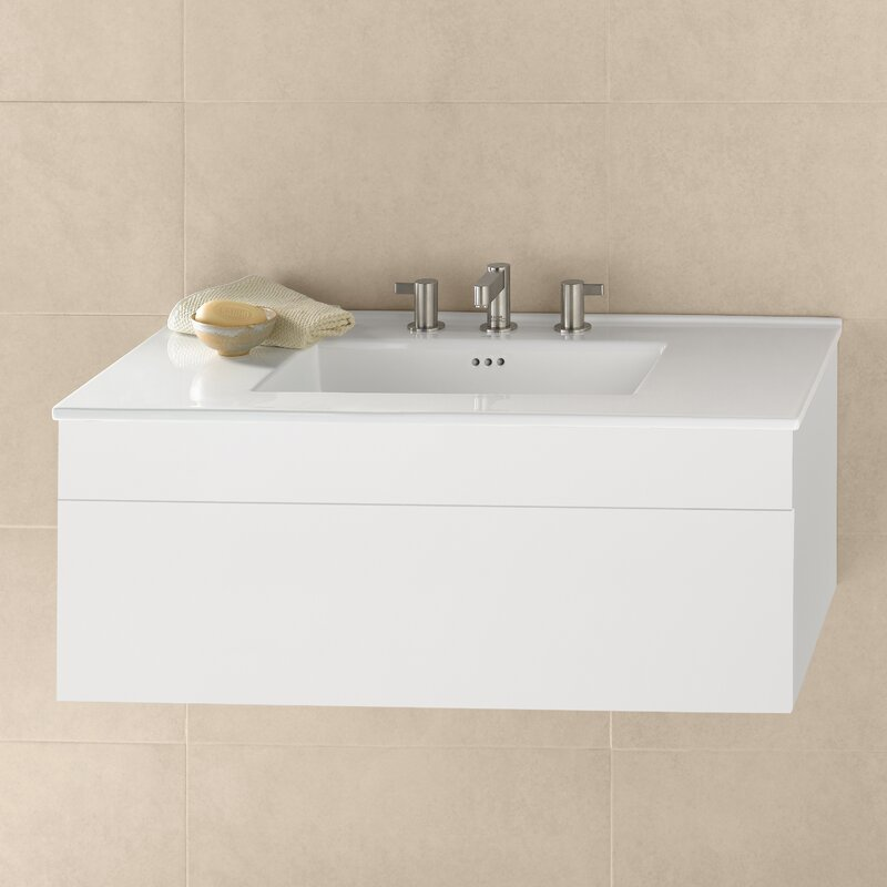 Ronbow Rebecca 37 Wall Mounted Single Bathroom Vanity Set Wayfair