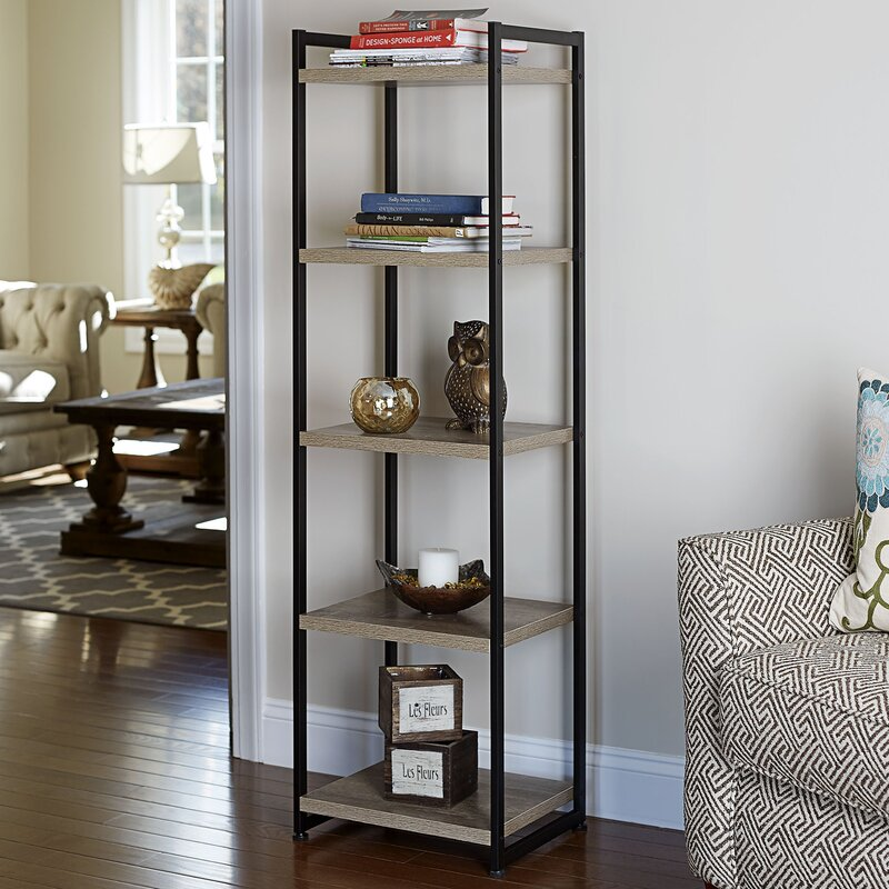 Household Essentials Etagere Bookcase & Reviews | Wayfair