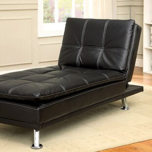 Leather Chaise Lounge Chairs You\'ll Love | Wayfair